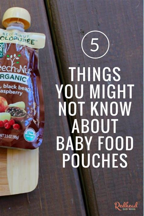 0 12 1 Things You Might Not Know Mcpe Things You - 5 things you might not know about baby food pouches
