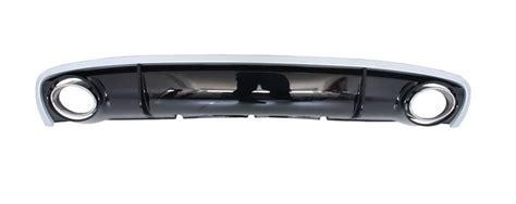 Audi A4 8k Auspuffblenden by Diffusor Rs4 Look Inkl Endrohre Auspuffblenden Audi A4 B8