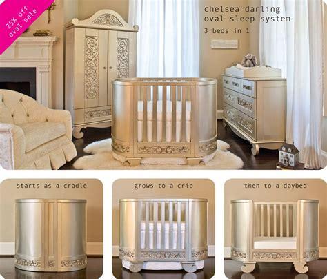 chelsea in silver baby crib designer nursery
