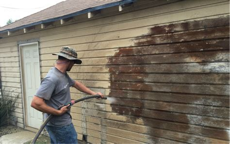 how to remove wood siding from house dustless blasting paint off a wood siding house kc power clean