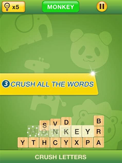 word themes games level 4 app shopper crush letters word search themes games