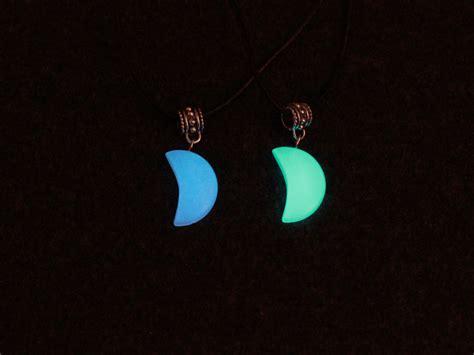 glow in the dark tattoo choker glow in the dark moon choker necklace pendant statement