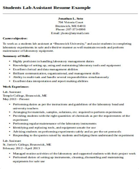 Resume For Teaching Assistant by 9 Sle Teaching Assistant Resumes Sle Templates