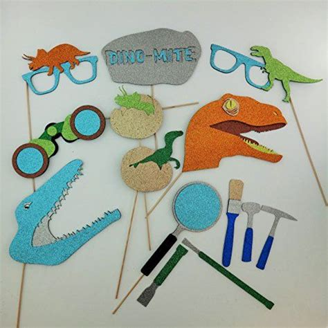 printable dinosaur photo booth props 186 best abe s birthday party images on pinterest