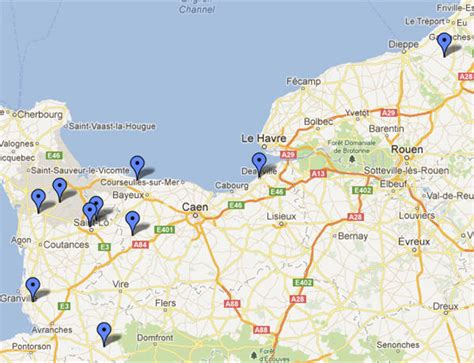 normandy map normandy cottages recommended self catering accommodation in northern