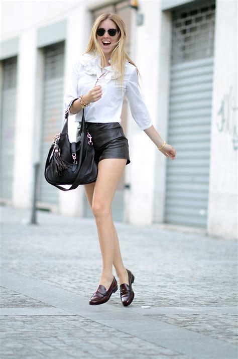 loafers shorts chiara ferragni hilfiger preppy loafers gucci new