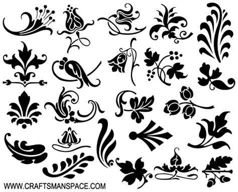 design elements for loading in vector from stock 25 eps ornamental design elements vector 365psd com