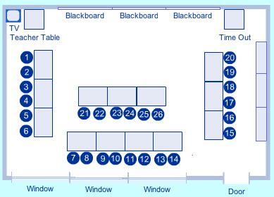 u shaped classroom seating chart template room arrangement