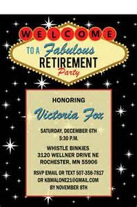 vegas themed birthday invitation wording las vegas retirement invitation casino theme by