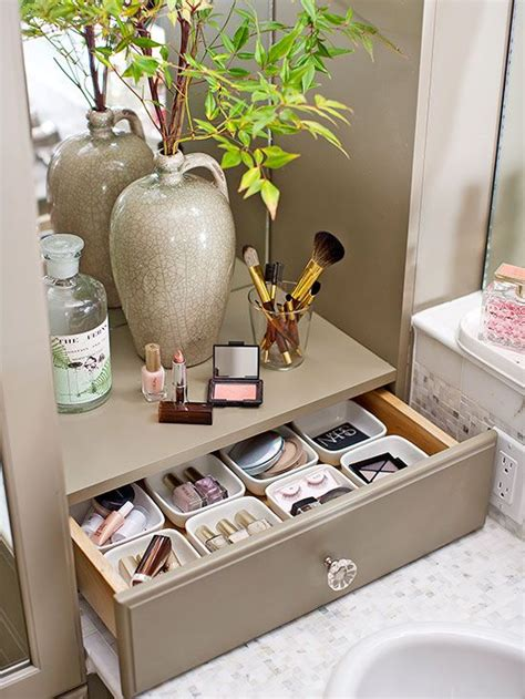 bathroom countertop storage ideas 1000 ideas about makeup counter on pinterest makeup