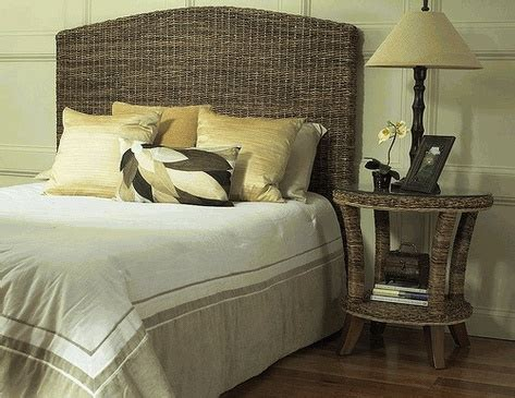Seagrass Bed Frame Seagrass Headboard From Www Wickerparadise At The Pinterest Seagrass Headboard