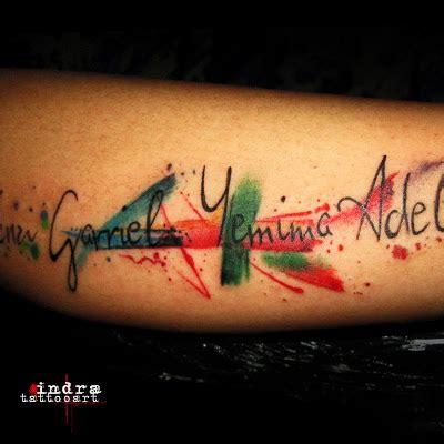 watercolor tattoo artist jakarta rollovertattoo indonesia