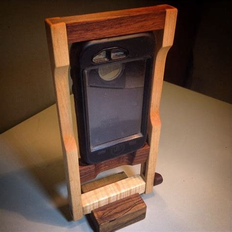 Wooden Smartphone Holder 1 wooden smart phone holder 5