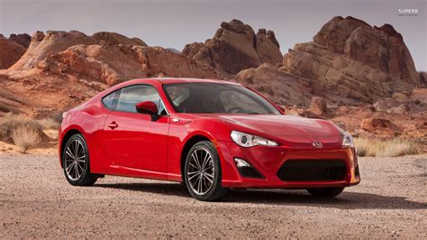 frs scion red scion frs red hd desktop wallpapers 4k hd