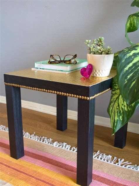 lack table hacks 11 stylish ways to hack the ikea lack table porch advice