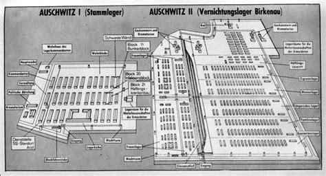 auschwitz diagram world war ii on maps