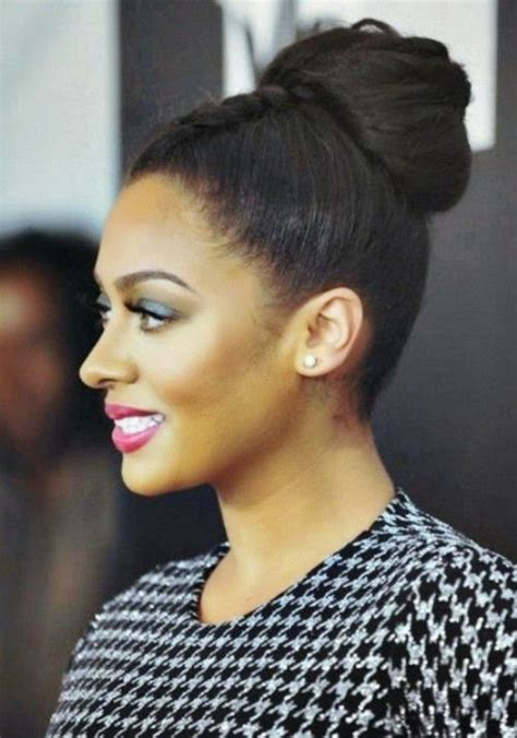 Black Hairstyles Buns 2015 | black women hairstyles classy women black hairstyles buns