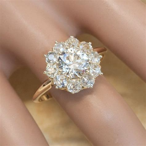 25 best ideas about flower rings on