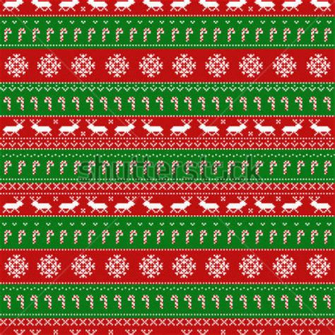 christmas sweater pattern background free seamless pattern with classic ugly sweater motifs stock