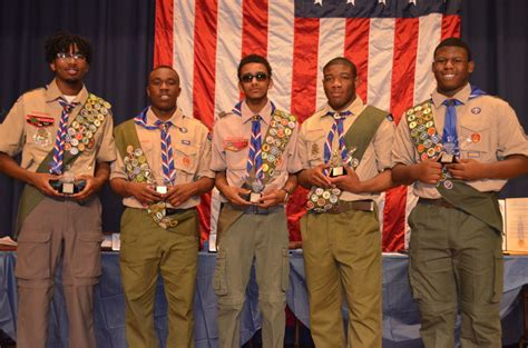 eagle scouts five black eagle scouts join the 1 percenters news