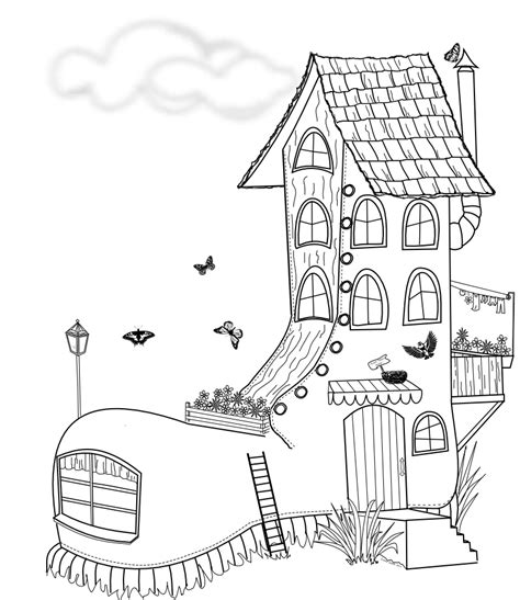 shoe house coloring pages beyond the fringe free fun shoe digital st