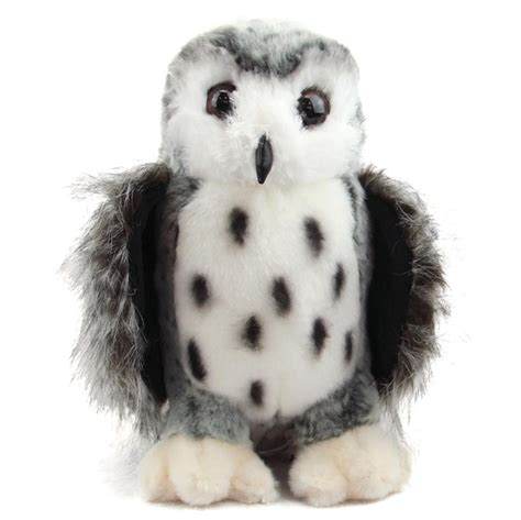 owl stuffed animal crescent the silver owl stuffed animal by douglas at