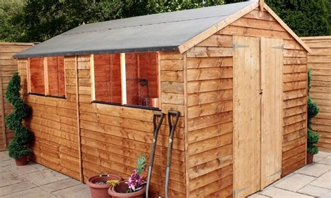 wooden garden shed groupon goods