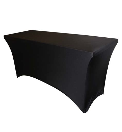 spandex table cover rectangular georgia expo