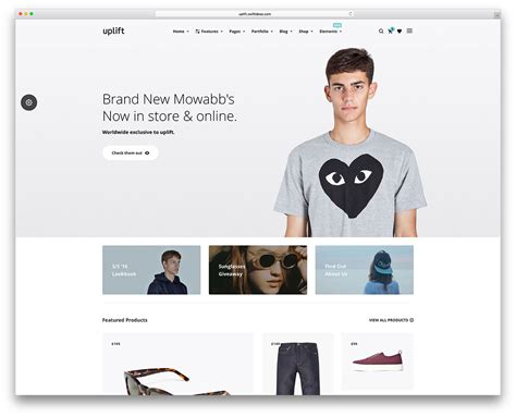 52 Awesome Ecommerce Wordpress Themes 2018 Colorlib Clothing Brand Website Template