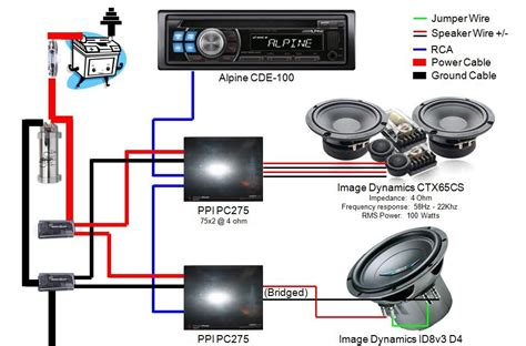 photo subwoofer wiring diagrams crutchfield car