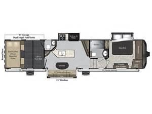 Raptor Rv Floor Plans 2016 Keystone Raptor 375ts Specs