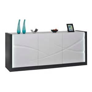 design beleuchtung design sideboard viladigo mit led beleuchtung wohnen de