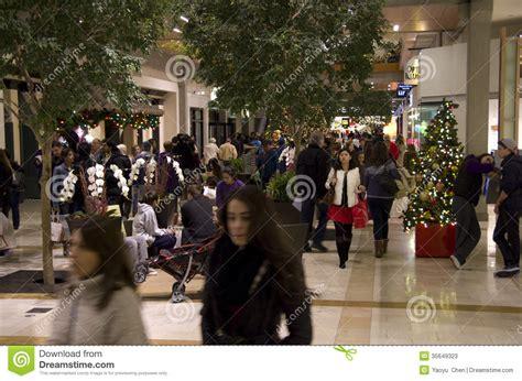 black friday holiday shopping mall christmas tree