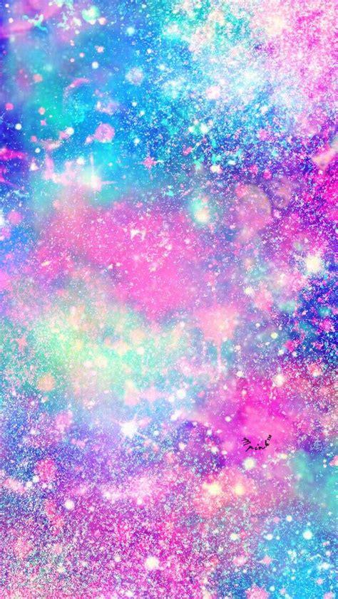 rainbow galaxy wallpaper hd glitter galaxy wallpaper my wallpaper creations