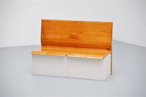bench laundry piet zwart bruynzeel laundry bench 1950 at 1stdibs
