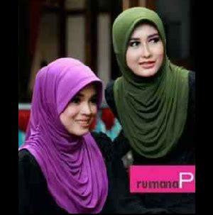Jilbab Instant Rumbai Rawis jual harga jilbab syari murah instant rumana polos zero2fifty