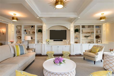 built ins for living room beige living room beautiful and cozy living room that