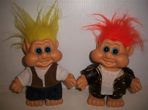 troll 2 collectible 7 quot boy trolls 1991 i t b elf gnome fairy pixie doll 2 4 1 ebay