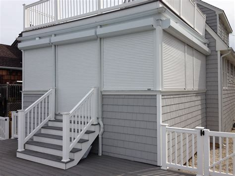 storm awnings windows doors in cape may nj hurricane shutters gallery miamisomers