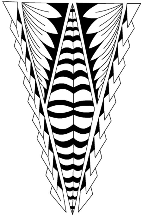 tongan leg tattoo tatau by xsiiana on deviantart