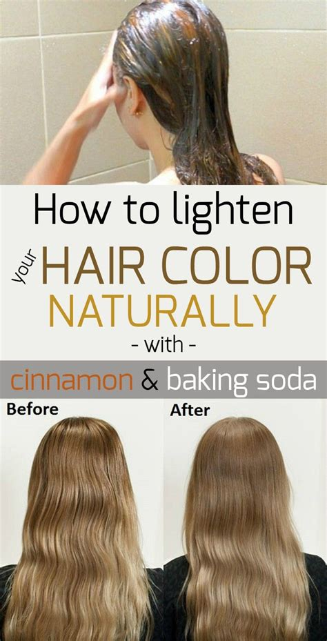 how to lighten your hair with cinnamon 6 steps wikihow baking soda for hair lightening