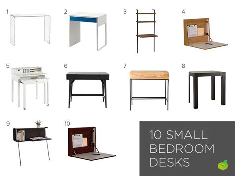 Small Desk Bedroom Space Saving Furniture For Your Small Bedroom