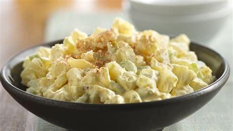 potato salad creamy potato salad recipe from betty crocker