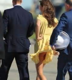 wind blows kate middleton s skirt up