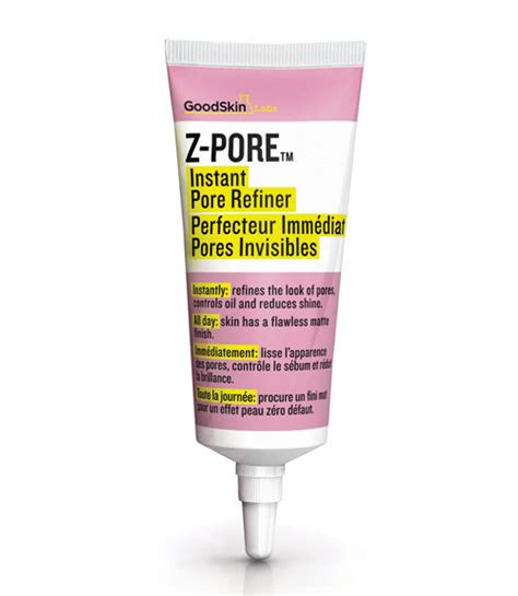 12 Best Products For Pores by Goodskin Labs Z Pore Instant Pore Refiner Review