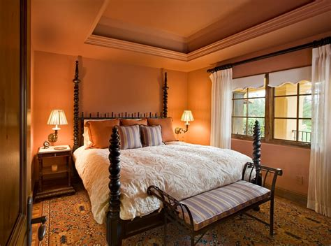 orange color bedroom ideas 24 orange bedroom designs decorating ideas design