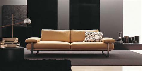 divano in pelle moderno divani moderni portos