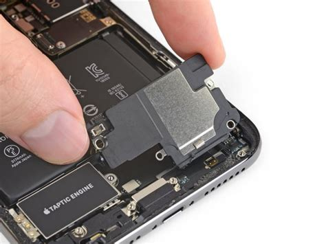 iphone xs max  speaker replacement ifixit repair guide