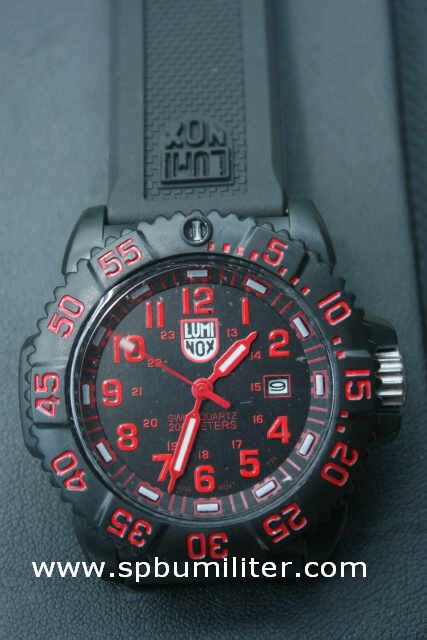 Jam Tangan Militer Luminox jam tangan luminox merah spbu militer