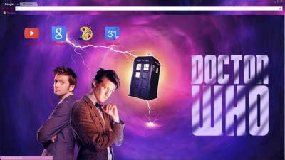 theme chrome doctor who matt smith chrome themes themebeta